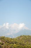 Panorama of mountain in Turkey Royalty Free Stock Image