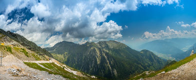 Panorama mountain view Royalty Free Stock Image