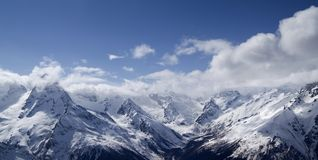 Panorama Mountains Royalty Free Stock Images