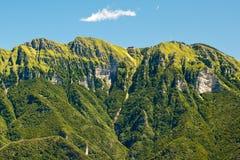 Panorama of mountains Stock Image