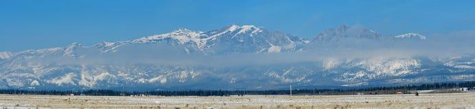 Panorama of mountains Royalty Free Stock Photo