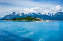 Panorama of Mountains in Alaska, United States. Beautiful panorama of Mountains in Alaska, United States Royalty Free Stock Images