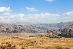 Panorama of mountains in Armenia Royalty Free Stock Photography
