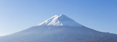 Panorama of Mt. Fuji view Stock Photography