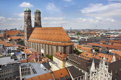 Panorama of Munich Royalty Free Stock Images
