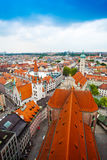 Panorama of Munich, Bavaria, Germany Stock Images