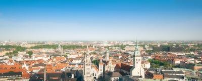 Panorama Munich Stock Image