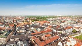 Panorama Munich Stock Images