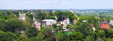 Panorama of Murom Royalty Free Stock Photos