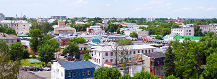 Panorama of Murom Royalty Free Stock Image