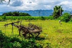 Panorama- Myanmar Arkivfoto