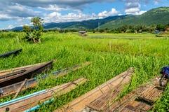 Panorama- Myanmar Royaltyfri Bild