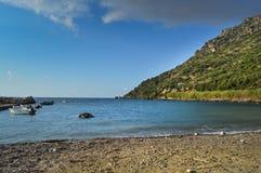 Panorama na oceanie Zdjęcie Royalty Free