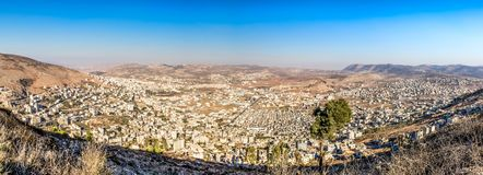 Shomron Samaria, West Bank stock images