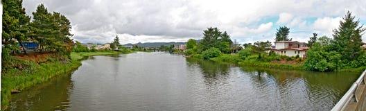 Panorama nadmorski Oregon fotografia stock
