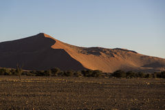 Panorama in Namibia Stock Image