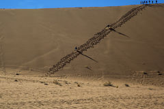 Panorama in Namibia Stock Photo
