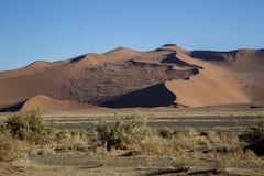 Panorama in Namibia Royalty Free Stock Image