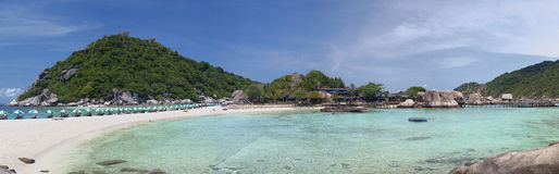 Panorama Nang Yuan island in Thailand Royalty Free Stock Images