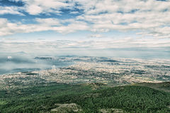 Panorama of Naples Royalty Free Stock Photography