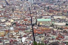 Panorama of Naples. Royalty Free Stock Photo