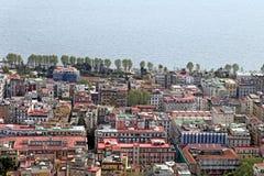 Panorama of Naples. Royalty Free Stock Photos