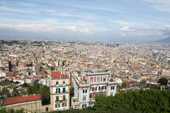 Panorama of Naples. Stock Photography