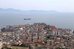 Panorama of Naples. Stock Images