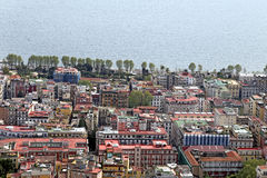 Panorama of Naples. Royalty Free Stock Photos