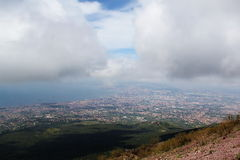 Panorama of Naples Stock Photography