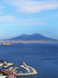 Panorama of Naples. Naples  - Italy Royalty Free Stock Images