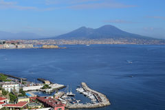 Panorama of Naples. Naples  - Italy Royalty Free Stock Photo