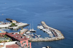 Panorama of Naples. Naples  - Italy Stock Photos