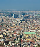 Panorama of Naples Royalty Free Stock Photos