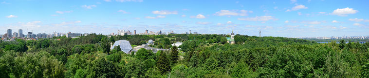 Panorama of the National Botanical Garden in Kyiv Stock Photos