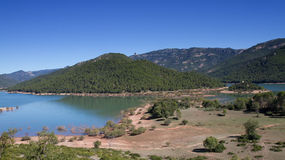 Panorama of National Park Sierra Cazorla Royalty Free Stock Image