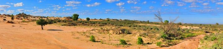 Panorama - Nationalpark des Mungos, NSW, Australien Lizenzfreie Stockbilder