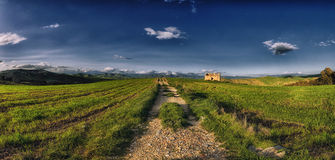 panorama- natur Royaltyfri Foto