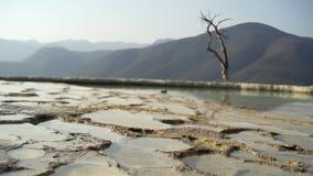 Mexico Hierve el Agua stock video