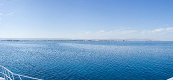 Panorama. The nature and panoramas of Egypt. Hurgada royalty free stock image