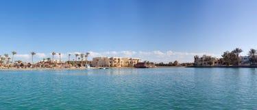 Panorama. The nature and panoramas of Egypt. Hurgada stock photography