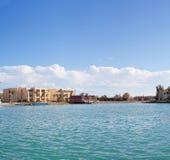 Panorama. The nature and panoramas of Egypt. Hurgada stock images