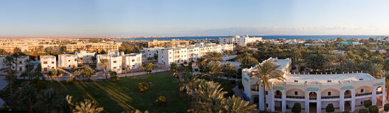 Panorama. The nature and panoramas of Egypt. Hurgada stock image