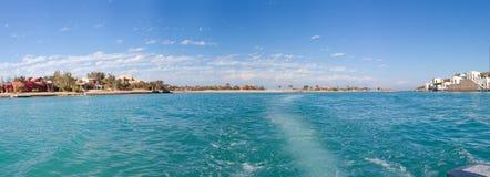 Panorama. The nature and panoramas of Egypt. Hurgada stock photo
