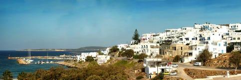 Panorama of Naxos in Greece Stock Photos