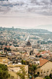 Panorama of Nazareth, Israel Royalty Free Stock Image