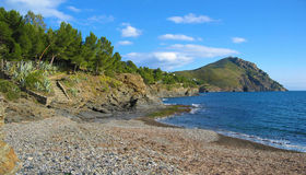 Panorama near Cadaques Stock Images