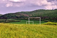 The  panorama near by village Sadok Royalty Free Stock Photo