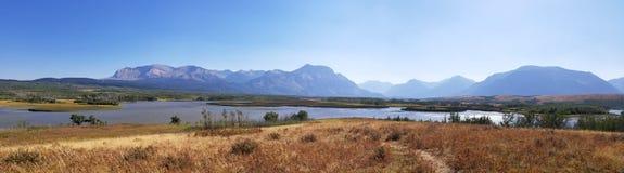 Panorama near Watertown national park. Near the entrance of Watertown national park, canada Stock Photography