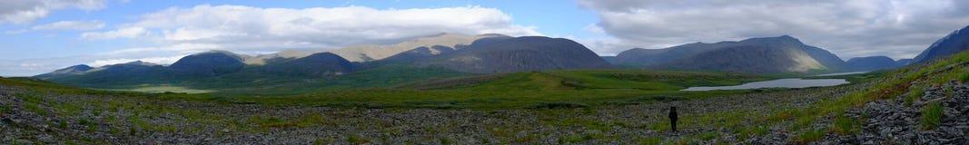Panorama nei Urals Fotografia Stock Libera da Diritti